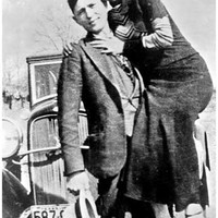 Bonnie and Clyde Portrait Poster 11x17
