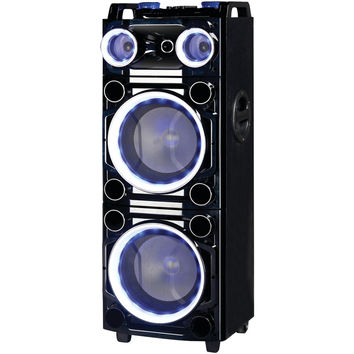 "Supersonic Pro 2 X 10"" Bluetooth Dj Speaker"