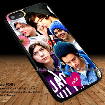 Harry Styles Beanie Collage iPhone 6s 6 6s+ 5c 5s Cases Samsung Galaxy s5 s6 Edge+ NOTE 5 4 3 #music #1d DOP2142