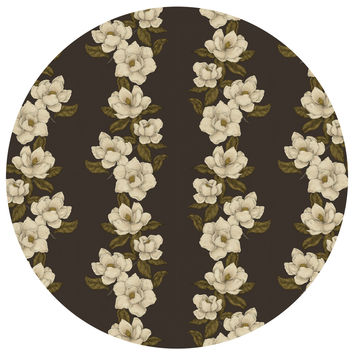Jessica Roux's Magnolias Pattern Circle Decal