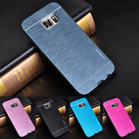 For Galaxy S7 Case S3 S4 S5 S6 Edge Note 7 5 4 3 2 Luxury Motomo Aluminum Metal Case For Samsung Galaxy S7 Case Hard Phone Cases