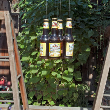 Leininkugel's Summer Shandy Four Beer Bottle Wind Chime