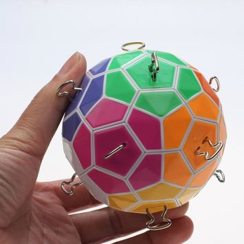 2016 Newest Tops Puzzle Magic Ball Colorful Strengthened Version Cube Magic Puzzle Learning&Educational Christmas gift toy