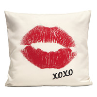 H&M - Cushion Cover - White