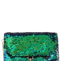 Women's Deux Lux 'Ariel' Convertible Sequin Clutch