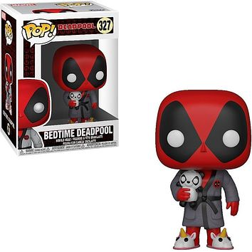 Bedtime Deadpool Funko Pop! Marvel Deadpool Playtime