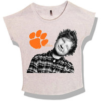 FREE SHIPPING Ed Sheeran Cut-Off Shirt Women's
