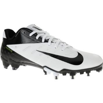 Nike Vapor Talon Elite Low Football Cleats 500068-100 WHITE/BLACK