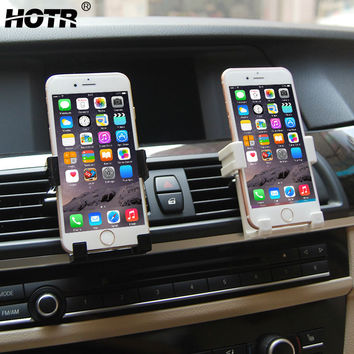 Car Holder Extendable Air Vent Stand Mount Phone Holder Support for Iphone 6 6s plus 5 SE 5C for Samsung for Xiaomi Redmi Note 3