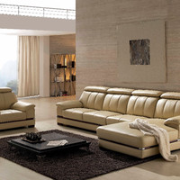 2016 Bean Bag Chair Sectional Sofa Bean Bag Armchair Hot Sale Italian Style Leather Corner Sofas For Living Room Furniture Sets