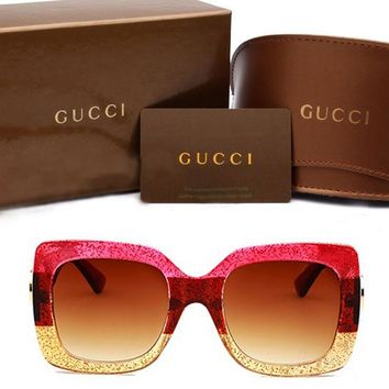Gucci sunglass AA Classic Aviator Sunglasses, Polarized, 100% UV protection [2974244960]