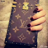 LV Hot Deal Apple Matte Couple Phone Case For iphone 7  6plus 7 plus