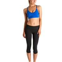 Bloch Studio Rib-Band Crop Top