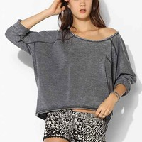 Raga Geo-Print Lounge Short- Black & White L