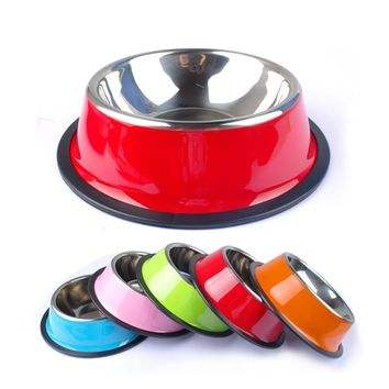 Drink Water Dish Feeder For Dog Bowl