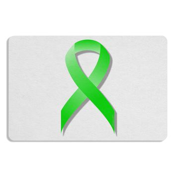 Lyme Disease Awareness Ribbon - Lime Green Placemat