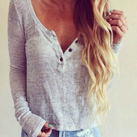 Knitted Short Sweaters crop top Women Autumn Thin top sexy white button Solid elastic Long Sleeve tank tops knitwear