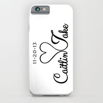Personalized Phone Case, iPhone 6, iPhone 6 Plus, Cover, Monogrammed Gifts, for Her, Couples, Tech Lover, Custom