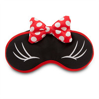 Minnie Mouse Plush Sleep Mask for Women