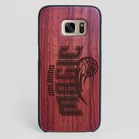 Orlando Magic Galaxy S7 Edge Case - All Wood Everything