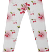 cherry leggings created by GossipRag | Print All Over Me