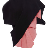Black And Pink Diagonal Colorblock Short Sleeve Top | Moda Operandi