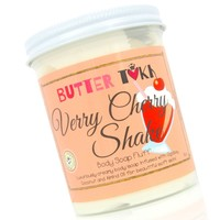 VERRY CHERRY SHAKE Whipped Body Soap Fluff