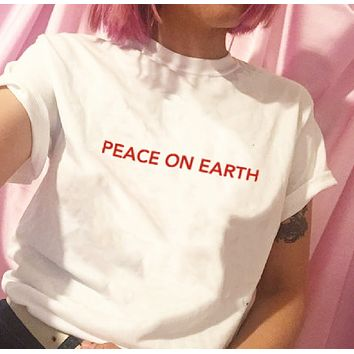 """Peace On Earth"" Tee"
