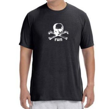 "Men's Short Sleeve Performance ""Danger Run"" T-Shirt"