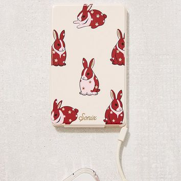Sonix Chubby Bunny Portable Power Bank | Urban Outfitters
