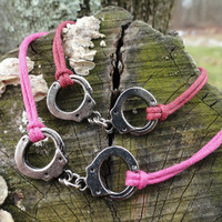 Adjustable Handcuff Bracelet