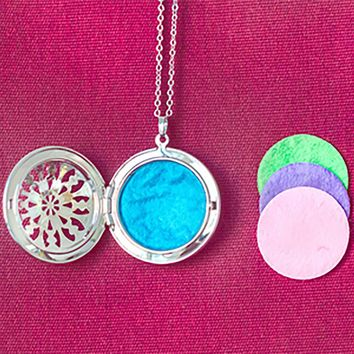 10 Diffuser Pads For Classic Necklace