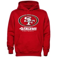 San Francisco 49ers Critical Victory Pullover Hoodie - Red