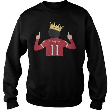 Mo Salah Egyptian King Liverpool FC shirt Sweat Shirt