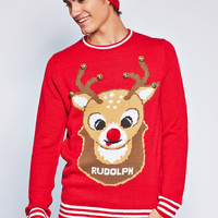 0805-01140932 Rudolph Sweater With Bells