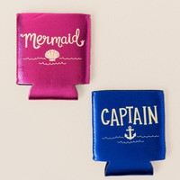 Mermaid and Captain Cozy Set