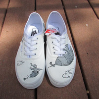 Custom Painted Oh, The Places You'll Go Vans