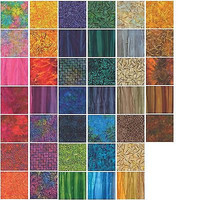 Aurora Batiks Jelly Roll by Moda Fabrics
