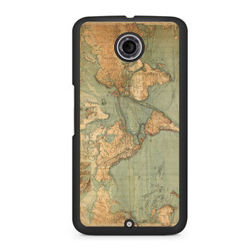 World Map Nexus 6 case