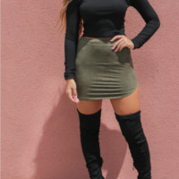 Sparks Fly Black Thigh High Boots
