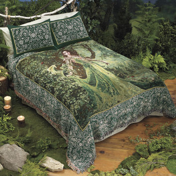 Queen Astranaithes Bedding - New Age, Spiritual Gifts, Yoga, Wicca, Gothic, Reiki, Celtic, Crystal, Tarot at Pyramid Collection