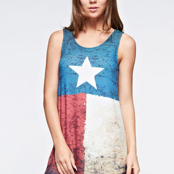 Texas Flag Dress