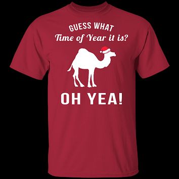 Guess What Time Of Year It Is T-Shirt