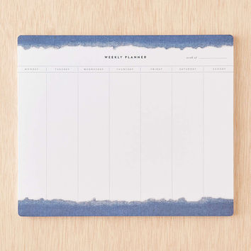 Indigo Weekly Task Pad - Urban Outfitters