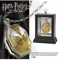 Free shipping a lot 1PCS Harry Potter Horcrux Locket HARRY POTTER NECKLACE