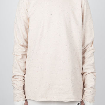 DEPLOY SPECKLE SAND SWEATSHIRT