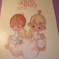 Precious Moments By Gloria & Pat - Counted Cross Stitch Pattern Chart Booklet BOOK PM-1