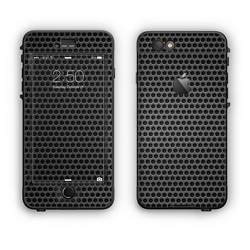 The Metal Grill Mesh Apple iPhone 6 Plus LifeProof Nuud Case Skin Set