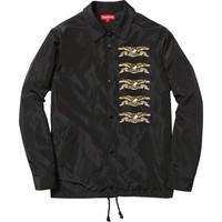 Supreme: Supreme/ANTIHERO® Coaches Jacket - Black