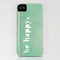 Be Happy iPhone Case by JoyHey | Society6